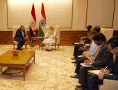 """رئيس وزراء الهند لـ""""سامح شكرى"""": السيسى قائد عظيم عبر بمصر إلى بر الأمان"""