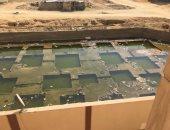 المياه الجوفية تزعج سكان الشطر الثامن فى البساتين بالقاهرة