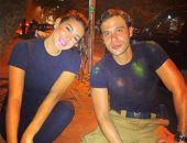 """محمد إمام وياسمين صبرى يتدربان مع مدرب بلغارى على مشاهد أكشن """"ليلة هنا وسرور"""""""