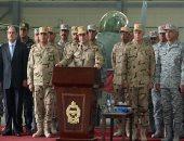 5 مناسبات ارتدى فيها الرئيس السيسي الزى العسكرى.. تعرف عليها