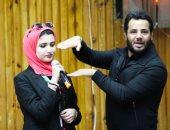 """صور.. نيشان يشرح لطلاب """"إعلام القاهرة"""" مقومات الثقة بالنفس"""