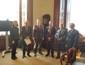 وفد برلمانى يلتقى رئيس جمعية الصداقة المصرية البريطانية لمتابعة قضية مريم