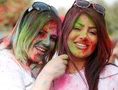 صور.. انطلاق مهرجان الألوان فى مدينة أربيل بإقليم كردستان العراق