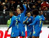 مجموعة مصر.. روسيا تسقط أمام البرازيل بثلاثية وديا
