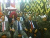صور.. مؤتمر جماهيرى بالعمرانية لدعم وتأييد السيسى فى الانتخابات الرئاسية