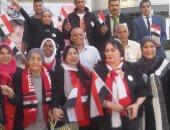 حملة مواطن تنظم احتفالية كبرى بالمقطم لدعم السيسى بانتخابات الرئاسة
