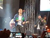 الهضبة عمرو دياب بعد حفله بالجامعة الأمريكية: سعيد دائما برؤية جمهورى
