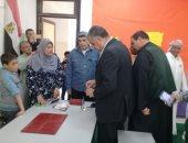 صور.. بدء تجهيز المدارس بالإسكندرية للانتخابات الرئاسية