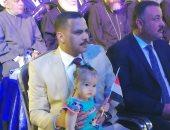 صور.. داليا أشرف رشاد تدعم الرئيس السيسى فى مؤتمر جماهيرى بقنا