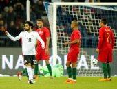 مصر تحافظ على هدف صلاح فى شباك البرتغال بعد 75 دقيقة.. ونزول وردة
