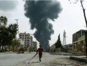 ارتفاع عدد قتلى القصف الروسى لمعسكر موالين لتركيا فى إدلب إلى 78 شخصا