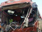 مصرع شخص وإصابة 6 فى حادث تصادم بطريق مصر إسماعيلية بالشرقية