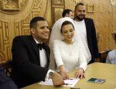 صور.. الدرندلى والغندور والصقر وشلتوت فى عقد قران عمر ربيع ياسين