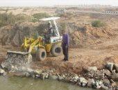 صور.. رئيس أبورديس يتفقد تجميل بحيرة الشاطئ العام بجنوب سيناء
