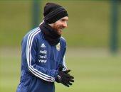 ميسي يغيب عن التدريب الأول للأرجنتين استعدادا لمباراة إسبانيا