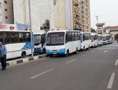صور.. توفير 42 سيارة لنقل قوات تأمين مقار الانتخابات ببورسعيد