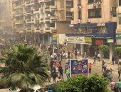 صور.. انفجار سيارة مفخخة فى شارع المعسكر الرومانى بالإسكندرية