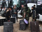 مسلحو المعارضة السورية يبدأون الخروج من منطقة القلمون قرب دمشق