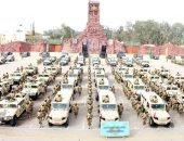 صور.. القوات المسلحة تنهى استعداداتها لتأمين انتخابات الرئاسة فى كل محافظات مصر