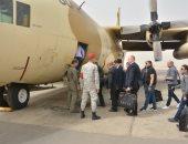 القوات الجوية تنقل القضاة المشرفين على الانتخابات الرئاسية بالأماكن النائية