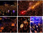 اشتباكات عنيفة بين الشرطة الإسبانية ومحتجين فى برشلونة