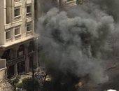 مدير أمن الإسكندرية يتفقد موقع انفجار السيارة المفخخة بمنطقة رشدى