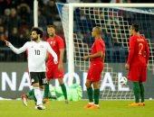 شاهد.. لقطات الإثارة وأهداف مباراة مصر والبرتغال