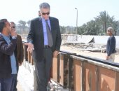 وزير النقل يتفقد المراسى النهرية لمتابعة إجراءات السلامة للمراكب النيلية