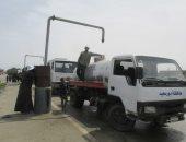 عودة مياه الشرب لبورسعيد بعد انقطاعها لمدة 11 ساعة