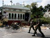 صور.. تدمير محتويات مسجد فى هجوم طائفى للبوذيين بسريلانكا
