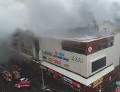 صور.. ارتفاع حصيلة ضحايا حريق مركز تسوق فى روسيا إلى 5 قتلى