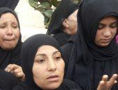 أرملة شهيد حادث الإسكندرية: زوجى يزف للسماء وأوصانى بالتصويت فى الانتخابات (صور)