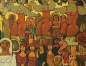 """معرض """" جمهور الست """" لـ مصطفى رحمة  بجاليرى بيكاسو 1 أبريل"""