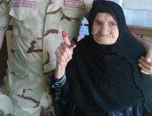 شعارهن صوتك أمانة.. سيدات مصر يشاركن فى الانتخابات بلقطات إنسانية رائعة
