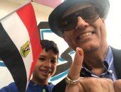 محمد سلماوى: اصطحبت حفيدى للانتخابات لأعلمه الواجب الوطنى