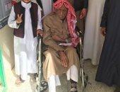 مواطن بمطروح يدلى بصوته فى الانتخابات الرئاسية رغم شدة مرضه