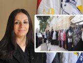 مايا مرسي: النساء تشارك بقوة فى انتخابات مجلس النواب لليوم الثانى
