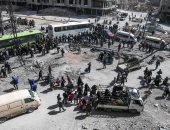 اتفاق جديد لخروج مسلحى المعارضة السورية من مدينة قرب دمشق إلى الشمال
