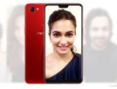 """""""أوبو"""" تكشف رسميا عن هاتفها الذكى الجديد Oppo F7 بكاميرا أمامية عملاقة"""