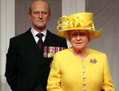 الملكة إليزابيث تلتقى الأمير لويس أحدث أفراد العائلة المالكة فى بريطانيا