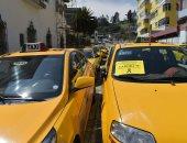 صور.. مظاهرات احتجاجية للسائقين فى الإكوادور ضد خدمة أوبر