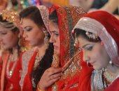 صور.. حفل زفاف جماعى لــ 100 شاب وفتاة فى باكستان