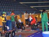 صور.. انطلاق فعاليات اليوم الثالث للبطولة الأفريقية لرفع الأثقال