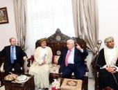 صور.. وزير خارجية سوريا يفتتح مقر السفارة السورية الجديد فى مسقط