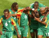 منتخب السنغال يؤدى تدريبه الثانى على الدفاع والسماح للاعلاميين بالحضور