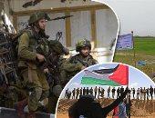 إصابات بالمطاطى خلال مواجهات فلسطينيين مع الاحتلال جنوب نابلس