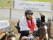 الفارس المصرى زياد طارق يفوز بالمركز الأول فى بطولة جرش الدولية للفروسية