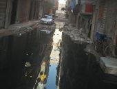 صور.. مياه الصرف الصحى تغرق شارع 24 بالفلكى فى الإسكندرية