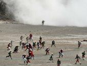 رئيس بوليفيا يحضر إعادة تمثيل معركة بين بلاده وتشيلى عام 1879 (صور)