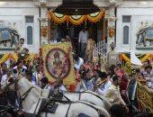 "الهنود يحتفلون بذكرى ميلاد رجل دين يدعى ""مهافيرا"" (صور)"